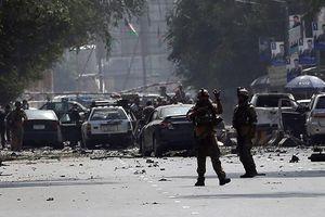 Bom xe phát nổ gần Đại sứ quán Mỹ, làm rung chuyển Thủ đô Afghanistan
