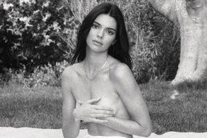 Kendall Jenner chụp ảnh bán nude