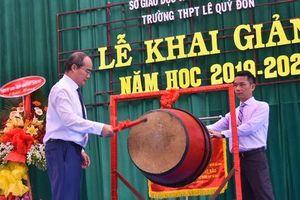 Bí thư Thành ủy TP HCM: Trường THPT Lê Quý Đôn phải là trường hàng đầu của TP
