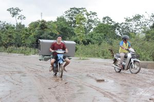 Lũ rút người dân Quảng Trị khẩn trương khắc phục hậu quả