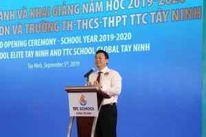 Tây Ninh: Niềm vui nhân đôi khánh thành trường mới dịp khai giảng