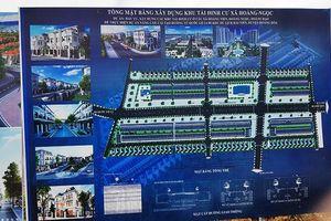 Huyện Hoằng Hóa (Thanh Hóa): Chưa xây dựng xong cơ sở hạ tầng vẫn 'ngang nhiên' đấu giá đất?