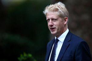 Bất đồng với chính sách Brexit , em trai thủ tướng Anh nộp đơn từ chức