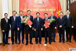 Phó Thủ tướng Phạm Bình Minh trao quyết định bổ nhiệm Tổng Lãnh sự