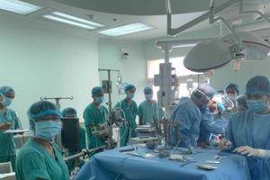 Bệnh viện Trung ương Huế ghép gan cho người bị ung thư gan