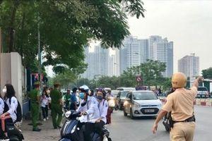 Hà Nội: Bảo đảm an toàn giao thông trong ngày khai giảng năm học mới