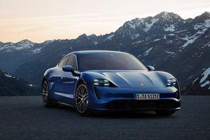 Xe điện đầu tiên của Porsche chính thức ra mắt toàn cầu