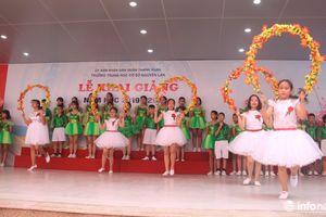 Khai giảng đầu tiên ở ngôi trường mang tên cố nhà giáo nhân dân Nguyễn Lân