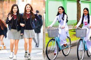 Đồng phục đến trường cuốn hút của học sinh 10 quốc gia