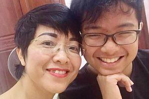 MC Thảo Vân viết tâm thư xúc động gửi con trai nhân ngày khai giảng năm học mới