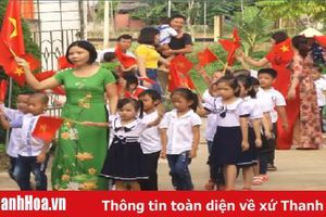 Huyện Thạch Thành: Hơn 34.000 học sinh nô nức khai giảng năm học mới 2019 - 2020