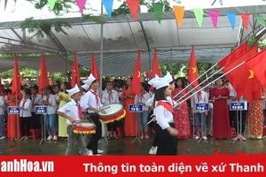 Trên 50.000 học sinh huyện Tĩnh Gia rộn ràng ngày khai giảng năm học mới
