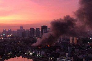 Vụ cháy Rạng Đông: Có 15-27kg thủy ngân phát tán, cảnh báo hồ Hạ Đình và sông Tô Lịch