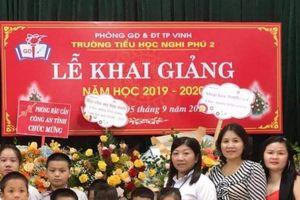 Nghệ An: Hân hoan ngày tựu trường