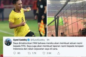 'Tan chảy' với loạt tweet đòi công đạo của Bộ trưởng 9x Malaysia gửi tới CĐV nhà