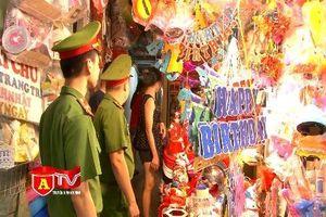 Đảm bảo an toàn cháy, nổ ở khu chợ Trung thu truyền thống
