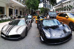 Siêu xe tụ hội tại Sài Gòn, họp bàn cho hành trình siêu xe quốc tế