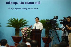 Chủ tịch Nguyễn Đức Chung: Thay thế chủ đầu tư dự án nước không đủ năng lực