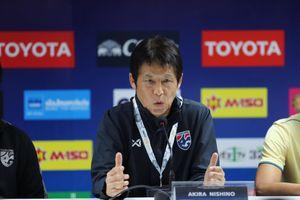 HLV Nishino thất vọng về đội tuyển Thái Lan