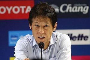 HLV Akira Nishino mất điểm khi ứng xử không đẹp ở trận gặp tuyển Việt Nam