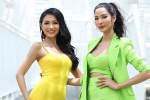 Em gái Hoàng Thùy khoe body bốc lửa tại sơ khảo Hoa hậu Hoàn vũ Việt Nam