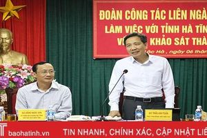 Đoàn liên ngành Trung ương thống nhất cao thành lập thị trấn Lộc Hà, đề nghị hoàn thiện hồ sơ để công nhận