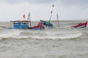 Tàu của ngư dân gặp nạn khiến 1 người tử vong, 5 người mất tích