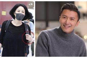 Đeo nhẫn trên ngón tay áp út bên trái, Vương Phi dính nghi vấn đã kết hôn cùng Tạ Đình Phong
