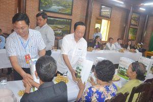 Thứ trưởng Võ Tuấn Nhân đi thực tế xây dựng NTM tại Tiên Phước, Quảng Nam