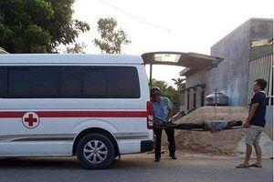 Chủ thầu, công nhân bị điện giật chết khi vận hành máy trộn bê tông