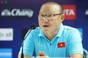 HLV Park Hang Seo gặp riêng phóng viên Việt Nam để tâm sự