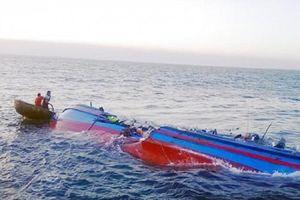 Chìm tàu cá, 6 ngư dân Nghệ An mất tích trên biển