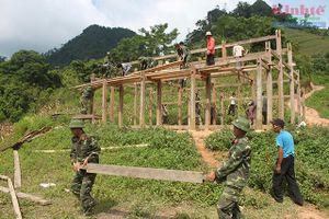 Lực lượng vũ trang Thái Nguyên chung sức XDNTM