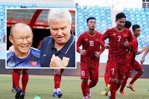 HLV Park vui vẻ gặp lại thầy cũ Guus Hiddink, sẵn sàng đấu U22 Trung Quốc