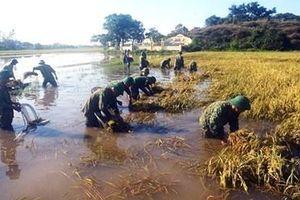 Huy động lực lượng giúp dân vùng lũ khắc phục hậu quả