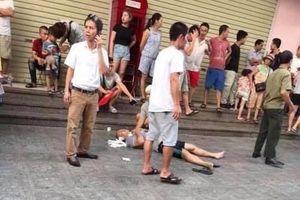 Nổ lớn ở quán nước chung cư Linh Đàm khiến nhiều người bị thương