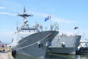 Cận cảnh 2 tàu Hải quân Hàn Quốc vừa cập cảng Tiên Sa