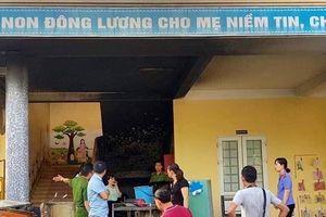 Quảng Trị: Cháy tại trường Mầm non
