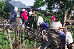 Khởi công xây dựng cầu biên giới liên xã tại tỉnh An Giang