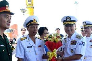 Tàu khu trục hải quân Hàn Quốc, tàu hải quân Philippines thăm Việt Nam