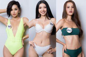 Dàn thí sinh 'Miss Universe Vietnam' đọ dáng với áo tắm gợi cảm