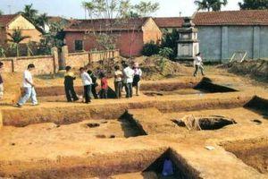 Báo động tình trạng xâm hại di tích khảo cổ
