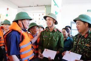 Phó Thủ tướng Vương Đình Huệ kiểm tra công tác khắc phục sau lũ ở Hà Tĩnh