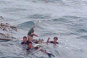 Vụ chìm tàu cá ở Quảng Bình: Nhận tin anh trai mất tích, em gái tăng huyết áp, sốc tử vong