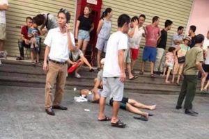 Hộp quà phát nổ khiến 4 người bị thương ở chung cư Linh Đàm