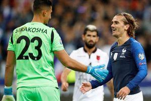 Tuyển Pháp thắng Albania 4-1 trong ngày Griezmann sút hỏng 11 m