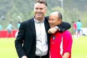 Người hùng World Cup Hiddink và Park Hang-seo đối đầu sau 17 năm
