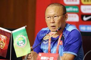 HLV Park Hang Seo: Chiến thắng 2 – 0 trước U22 Trung Quốc chưa phản ánh đúng chất lượng của đối thủ