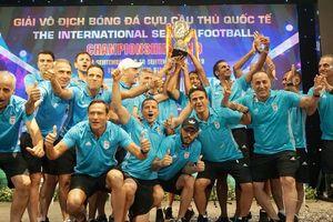 Nhiều ấn tượng đẹp tại giải cựu cầu thủ quốc tế mở rộng ở Nha Trang