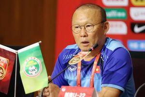 Thày Park đưa ra đề nghị đặc biệt cho trận đấu với Trung Quốc